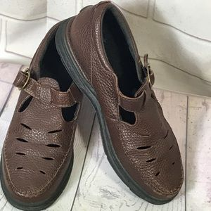 Rockport Leather brown shoes